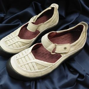 Privo sneakers with velcro closure beige size 6M